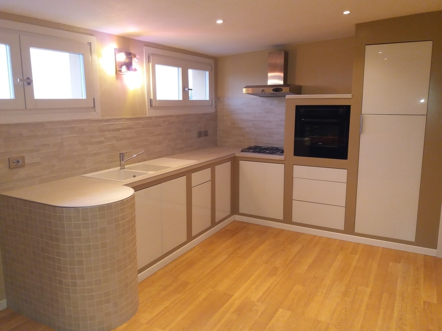 Cucina in muratura idee ristrutturazione casa - Progetti cucina in muratura ...
