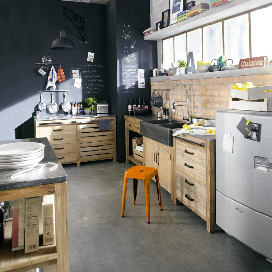 Foto cucina in stile industriale di rossella cristofaro - La cucina di rossella ...
