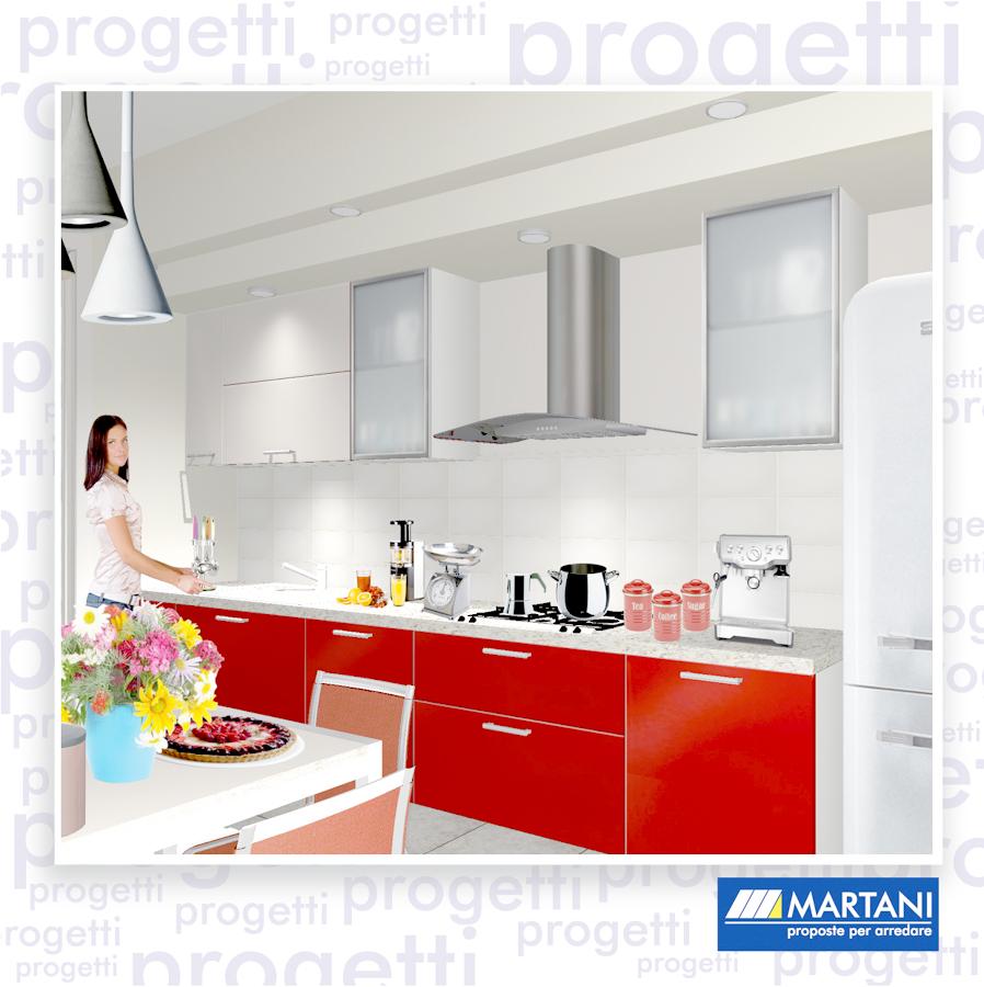 Progetto arredo ambiente cucina idee ristrutturazione cucine for Progetto arredo