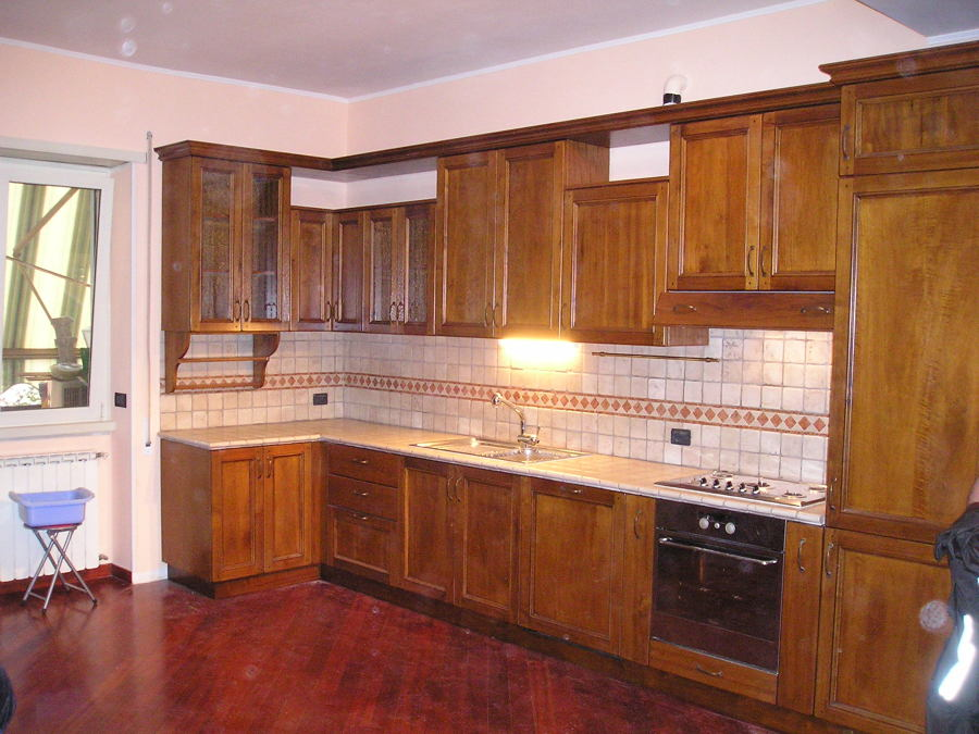 Foto: Cucina Montata di Caporali Moreno Riproduzione E ...