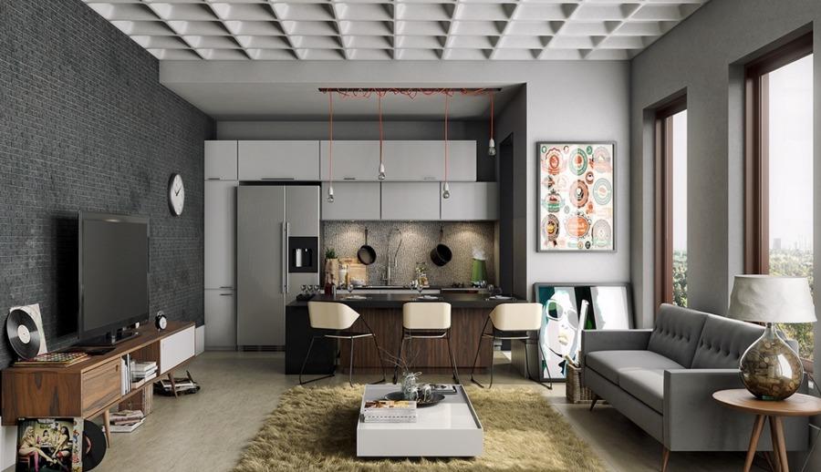 Foto: Cucina Openspace Soggiorno di Marilisa Dones #377178 ...