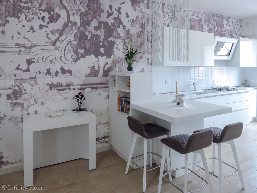 cucina su parete wall decor