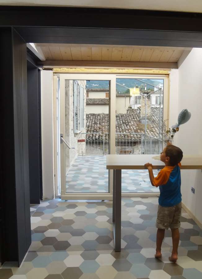 cucina + terrazzo