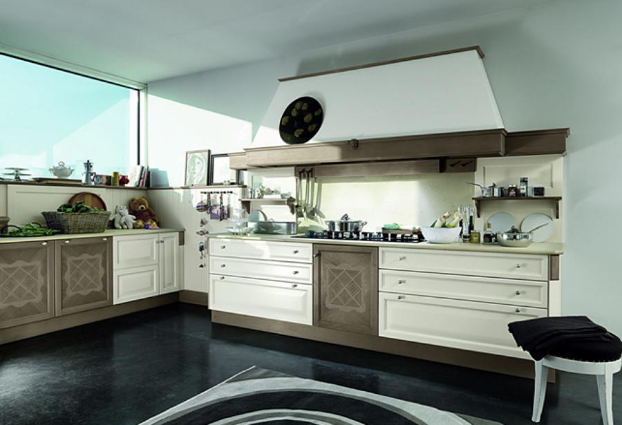 Progetto ristrutturazione cucina classica idee for Idee arredo cucina classica