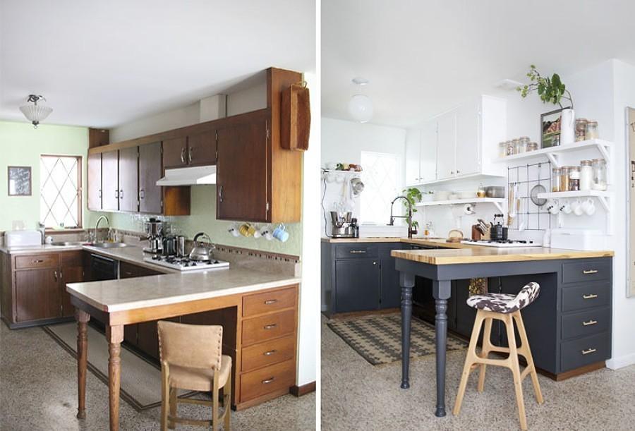 Cucine prima e dopo idee interior designer for Rinnovare casa spendendo poco