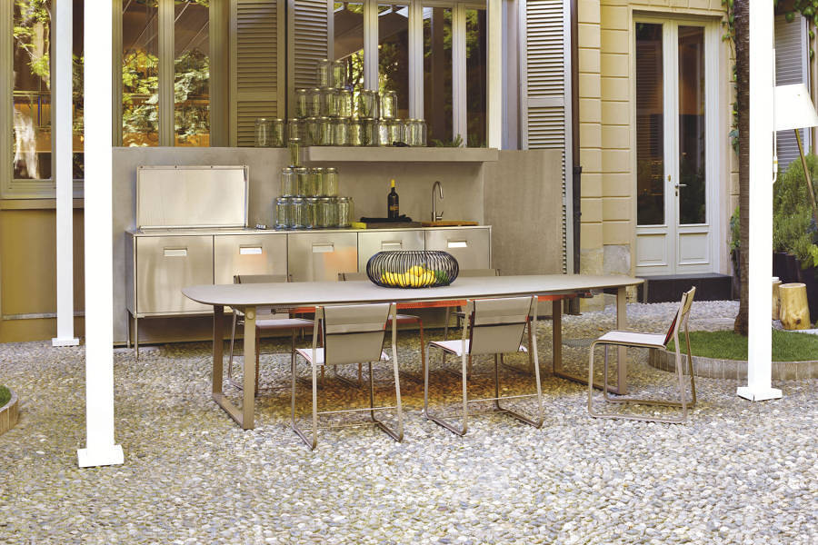 Foto: cucine da esterno minimaliste di valeria del treste #277071 ...