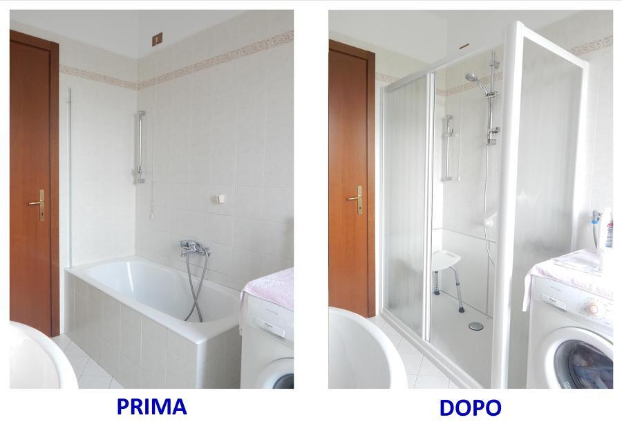 Foto da vasca in doccia di ristruttura di scotti omar - Sostituire la vasca con doccia ...