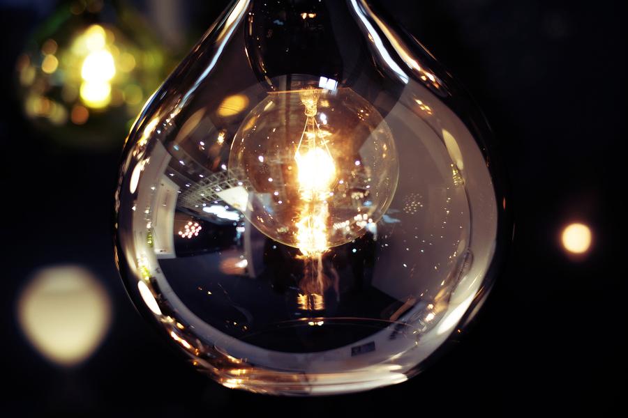 Damigiane come lampadari