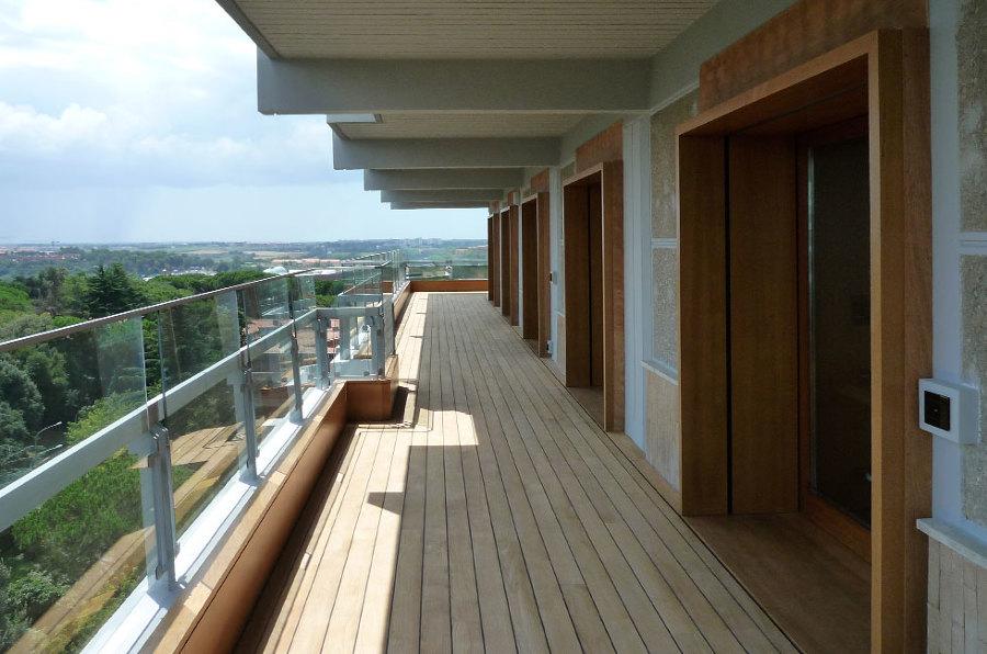 Deck terrazzo