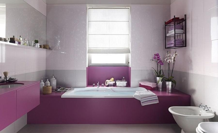 Come Arredare un Bagno con Tocchi di Color Rosa | Idee Interior Designer
