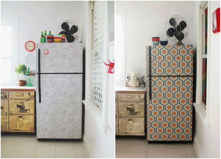 4 idee per rinnovare casa senza ristrutturare n spendere - Decorare frigorifero ...