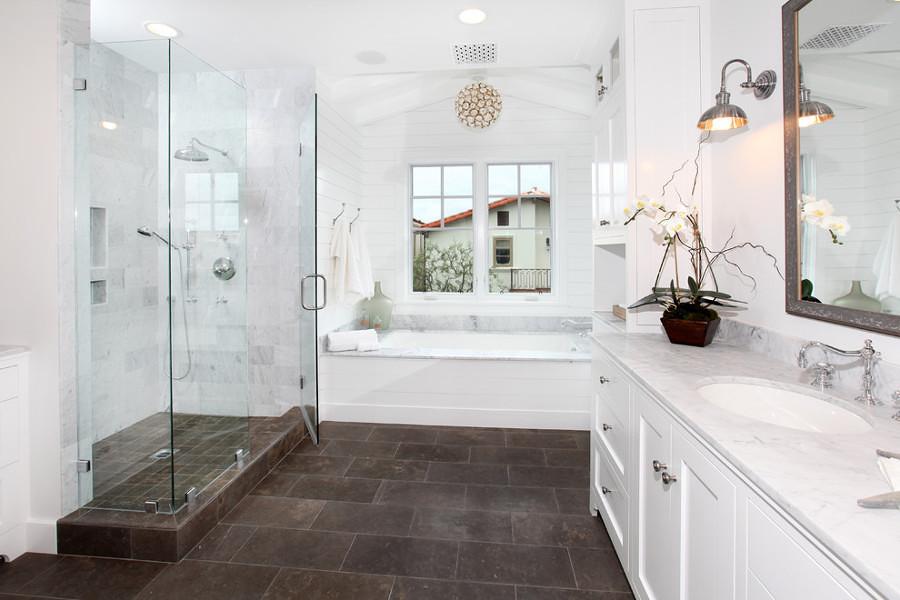 Foto decorare il bagno con i fiori di valeria del treste - Decorare il bagno ...