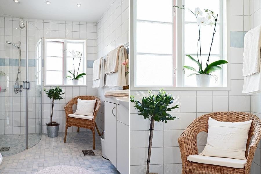 Foto decorare il bagno con le piante di valeria del - Piante in bagno ...