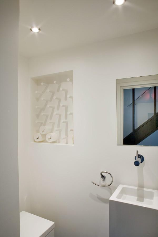 decorazione con carta igienica