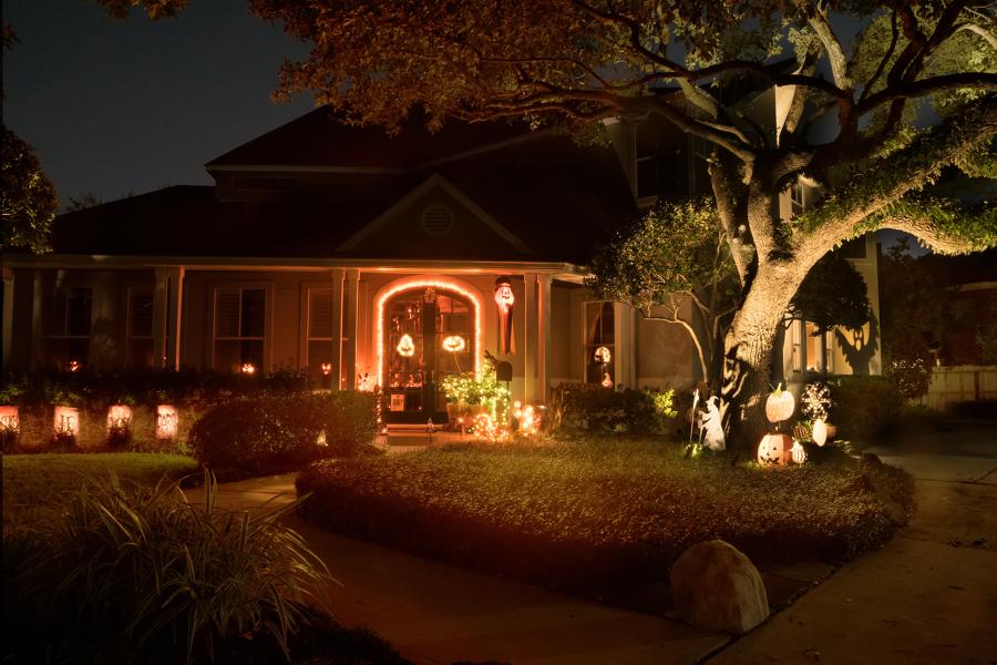 decorazioni luminose per halloween