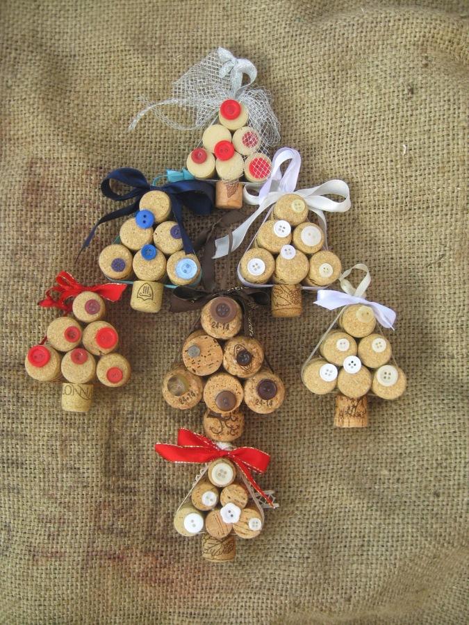 Diy natale decorazioni per la casa fai da te idee - Decorazioni di natale con materiale riciclato ...