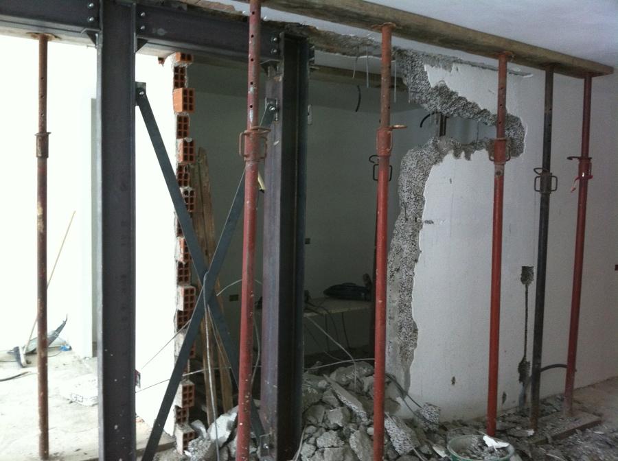 Apertura porta su muro portante idee per la casa - Tracce su muri portanti ...