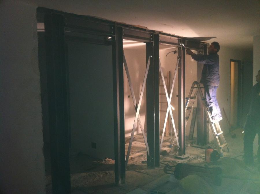 Progetto ristrutturazione con demolizione di muri portanti - Tracce su muri portanti ...