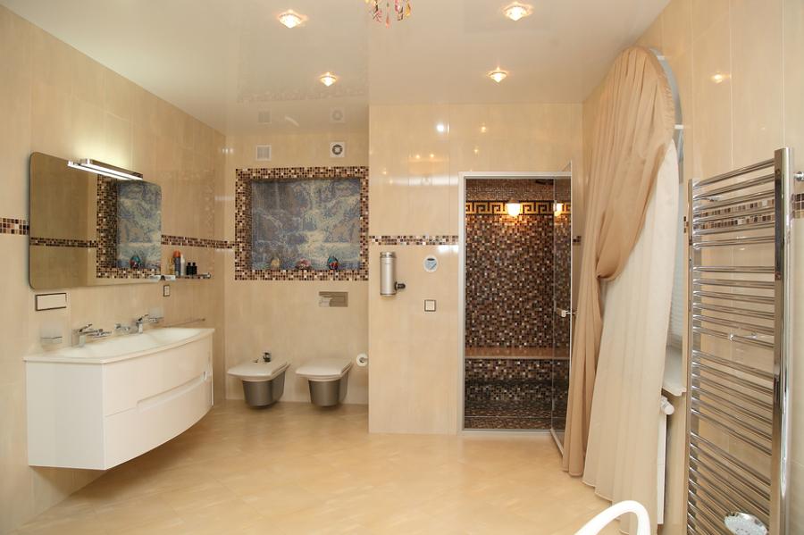 Come illuminare il bagno idee ristrutturazione casa - Illuminazione per bagno ...