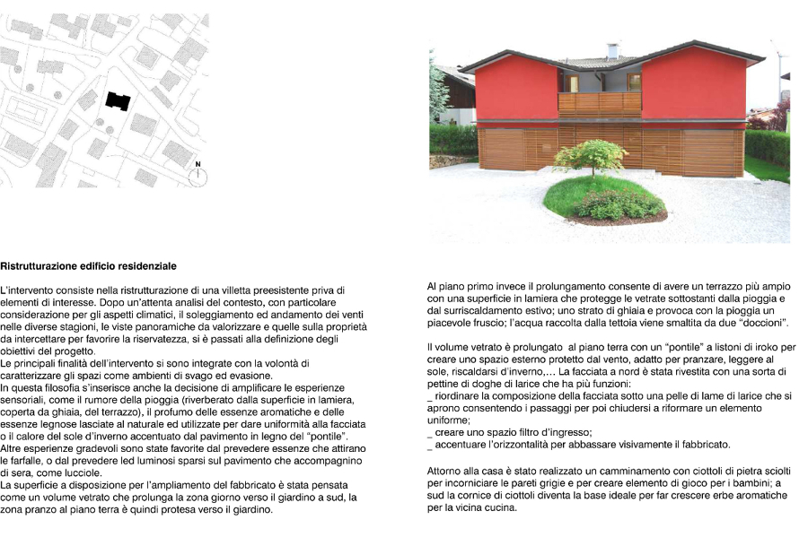 Progetto Ristrutturazione Casa di Vacanze  Progetti Ristrutturazione Casa