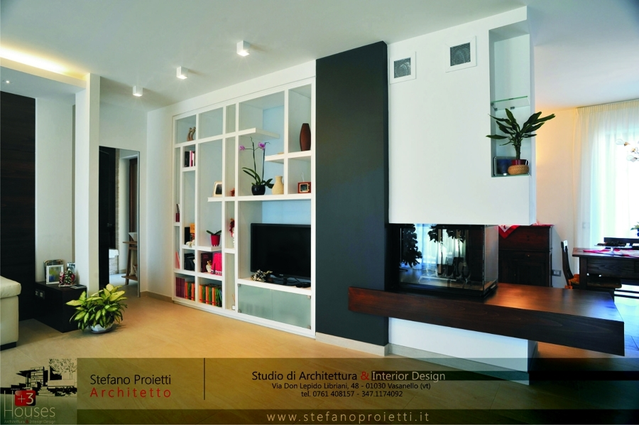Foto design d 39 interni appartamento privato in prov di - Architetti d interni torino ...