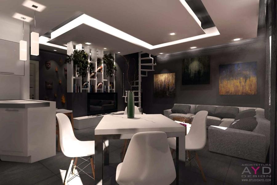 Progetto di ristrutturazione casa rosta idee for Design d interni