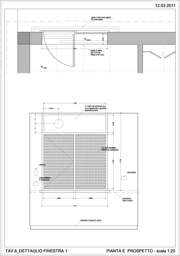 Foto dettaglio della vetrata di arch alessandro mundo for Dettaglio inquadratura vetrata