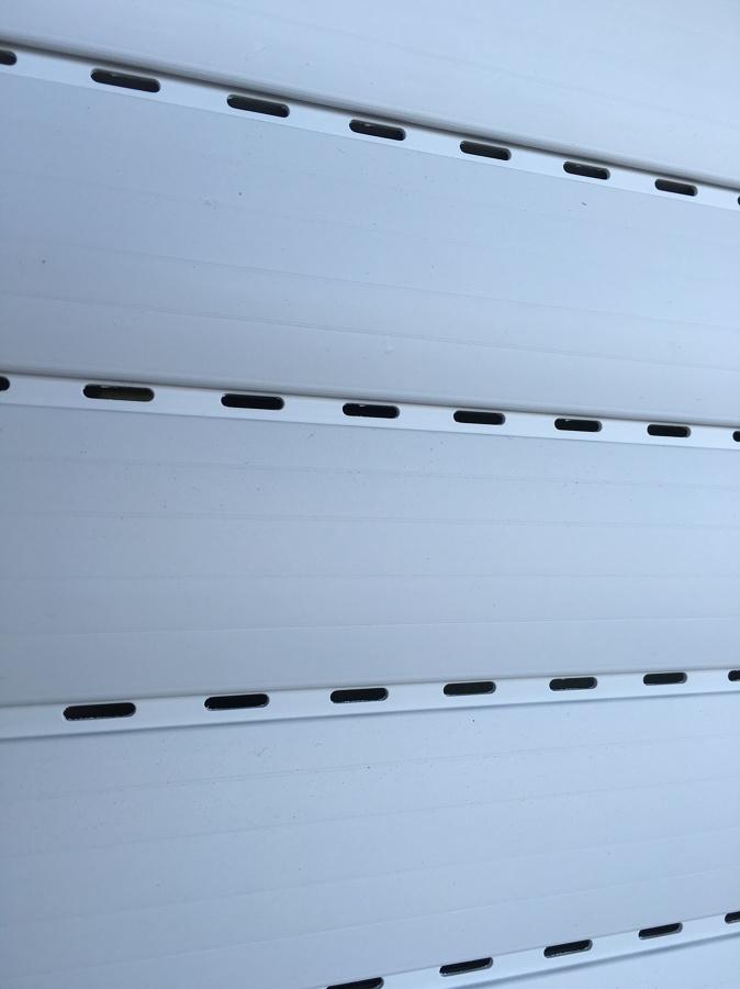Dettaglio di avvolgibile in PVC