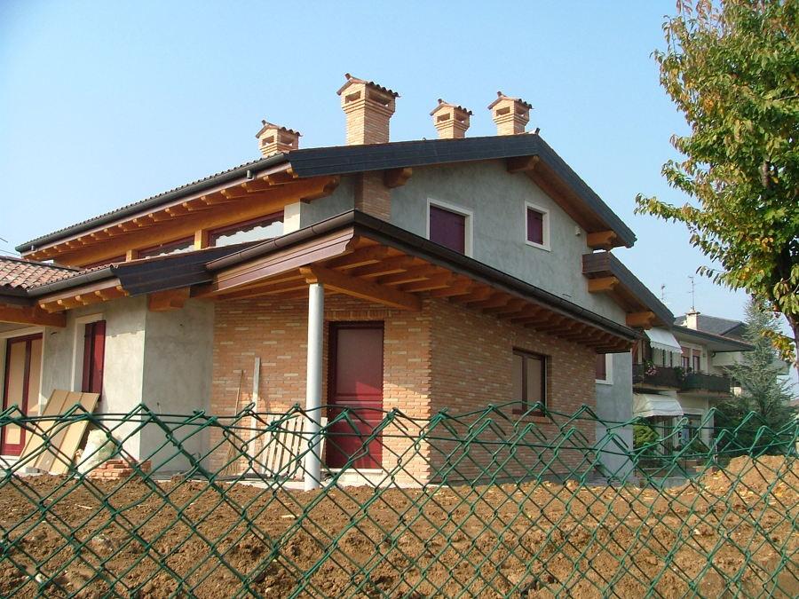 Progetto di direzione lavori per la costruzione di for Portico laterale in stile casa in stile charleston