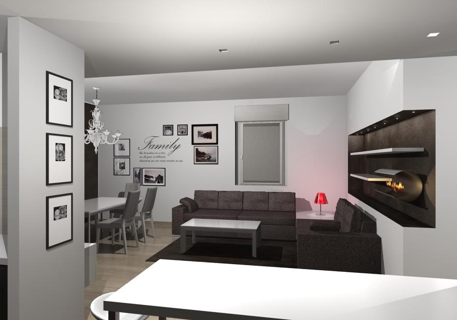 Ristrutturazione appartamento i piano rho idee for Idee piano appartamento