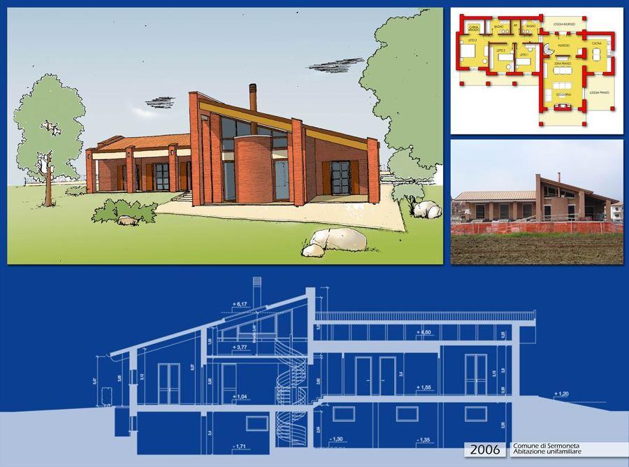 Progetto costruzione villa in bioedilizia idee for Villa moderna progetto
