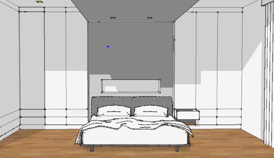 disegno per la camera da letto