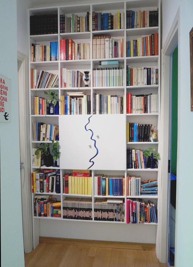 Disimpegno, libreria a misura