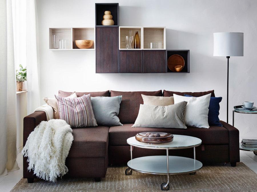 divano ad L monolocale
