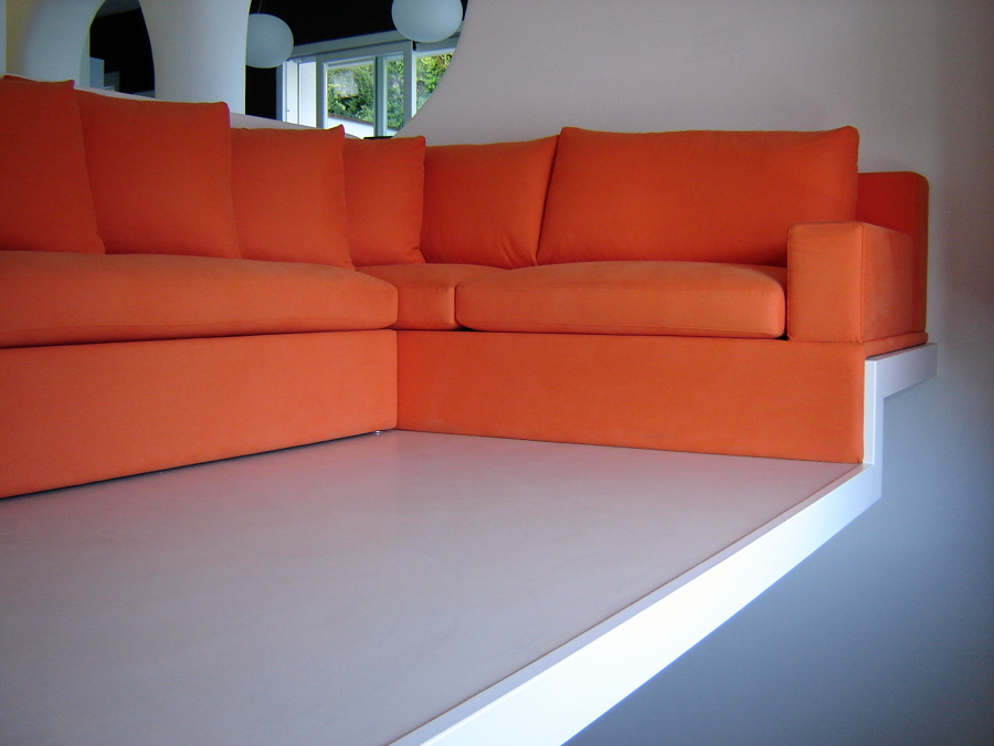 Foto divano su misura per soppalco di 3s in fabbrica salotti 77193 habitissimo - Divano su misura ...