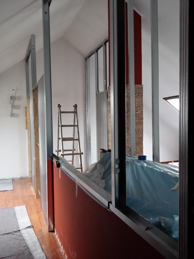 Divisione mansarda progetti costruzione muri - Cabine armadio progetti ...