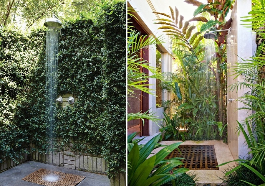 doccia da giardino