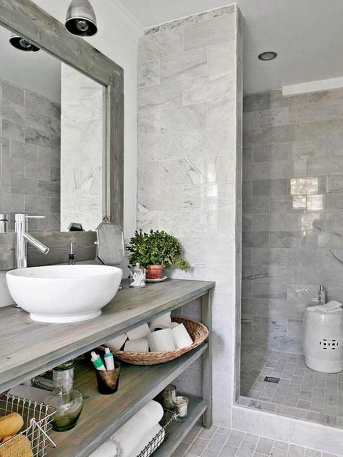 Foto doccia in muratura di marilisa dones 396492 - Bagno piccolissimo in camera ...