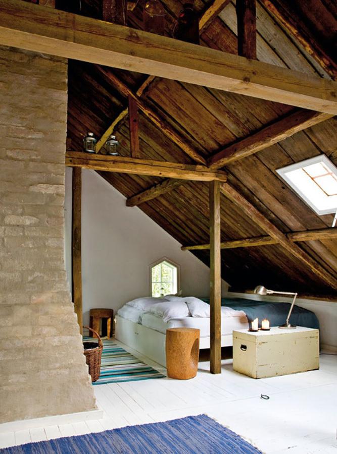 dormitorio in legno