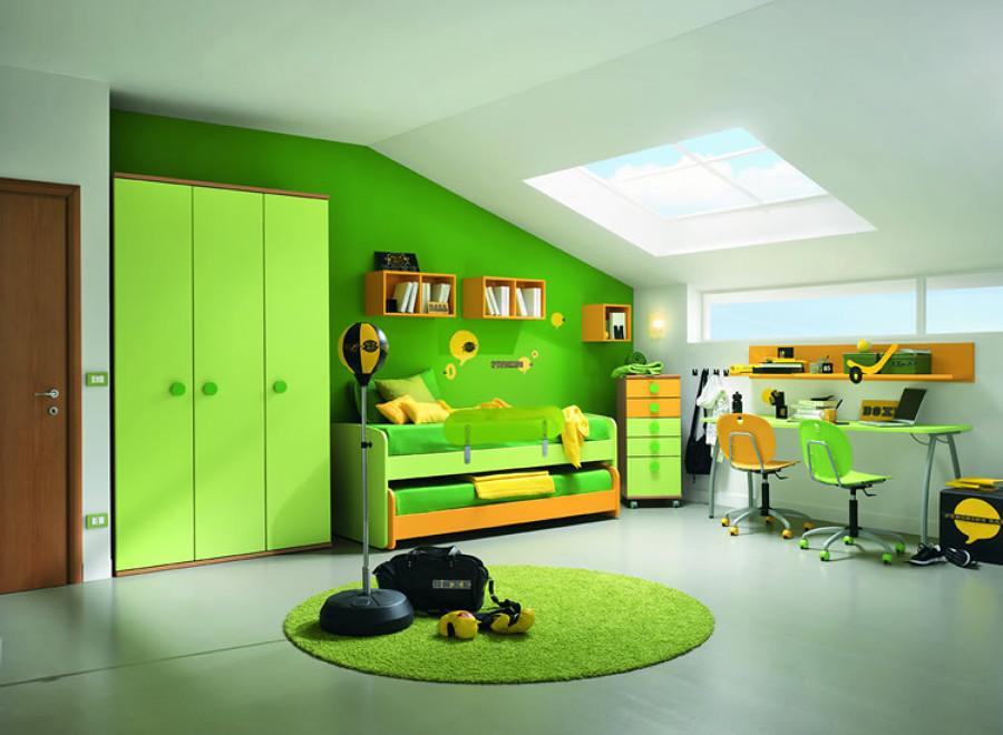 Consigli per arredare una camera per bambini in un attico - Arredare camera bambini ...