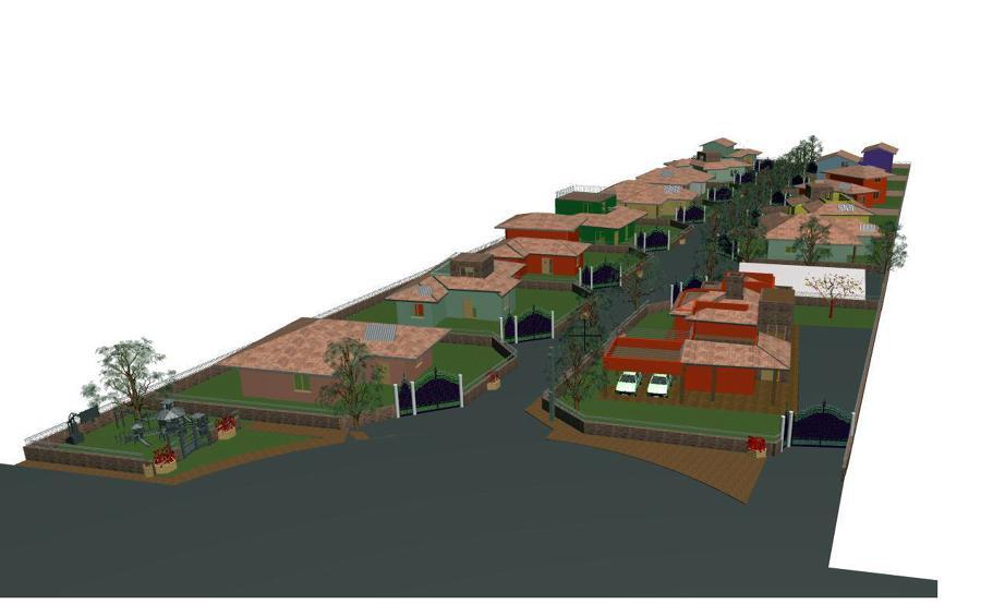 Progetto di realizzazione eco villaggio progetti for Progetti di edilizia eco friendly