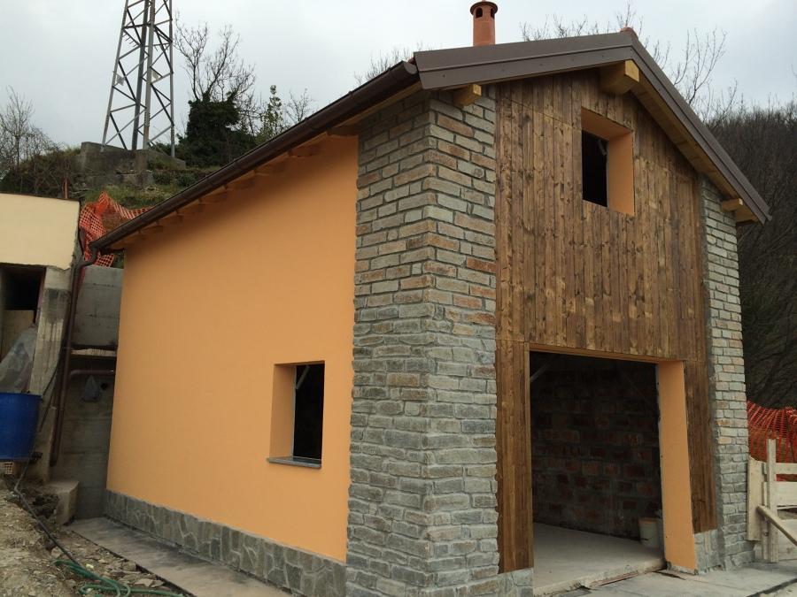 Progetto di costruzione di edificio rurale ricovero for Progetti di costruzione di garage