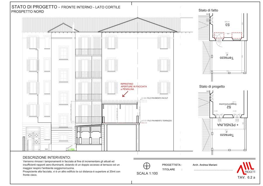 Foto elaborato di progetto di amprogetti 533789 for Progetto ristrutturazione casa gratis