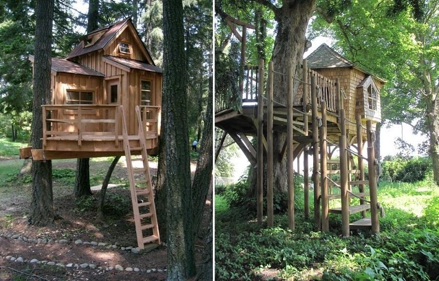 Popolare Torna Bambino e Divertiti a Costruire la Tua Casa Sull'albero  YF03