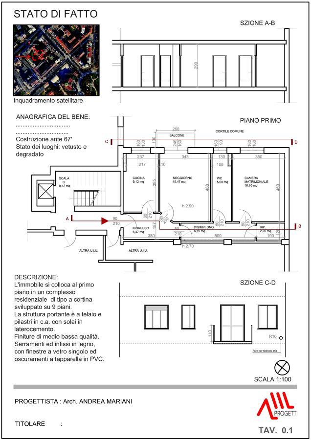 Ristrutturazione appartamento 80 mq idee - Costo ristrutturazione casa 80 mq ...