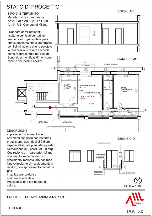 Ristrutturazione appartamento 80 mq idee for Esempio di pianta del piano casa