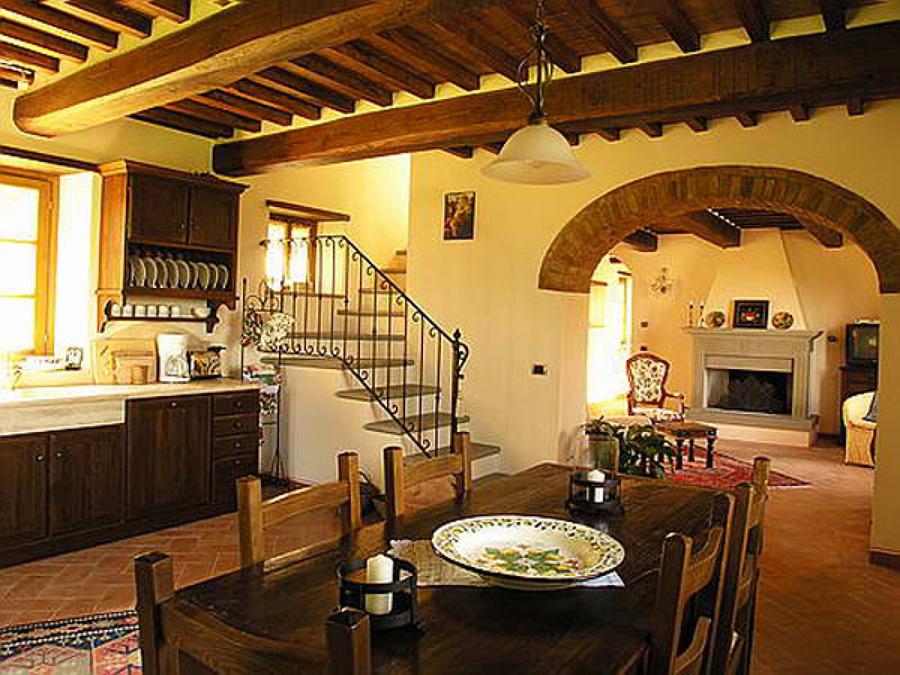 come ottenere uno stile campestre con l'arredamento toscano ... - Toscano Arredo Bagno Catania