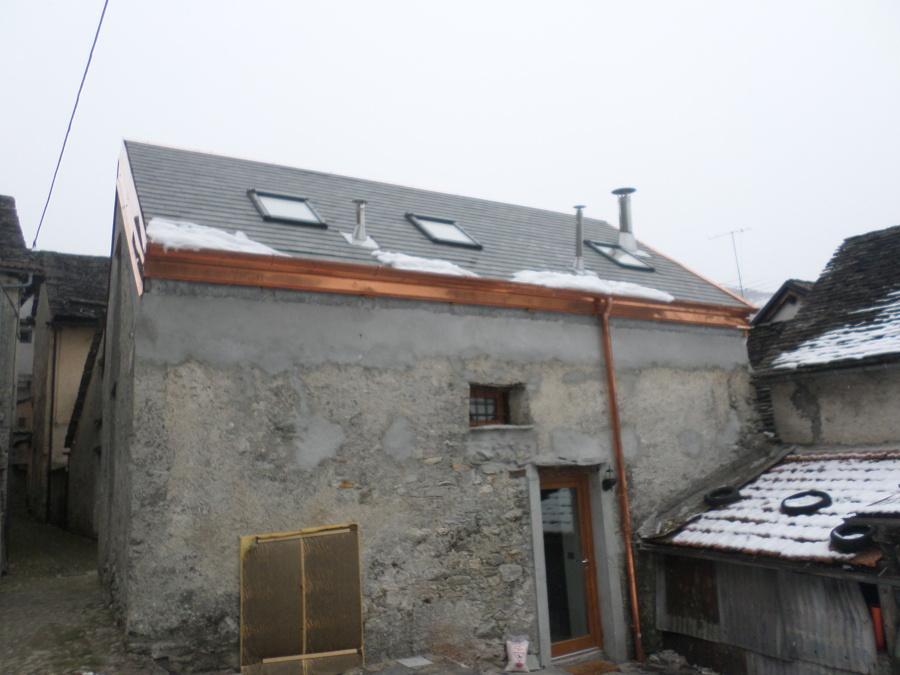 Fienile ristrutturato per casa di montagna idee for Progetti di piani casa fienile