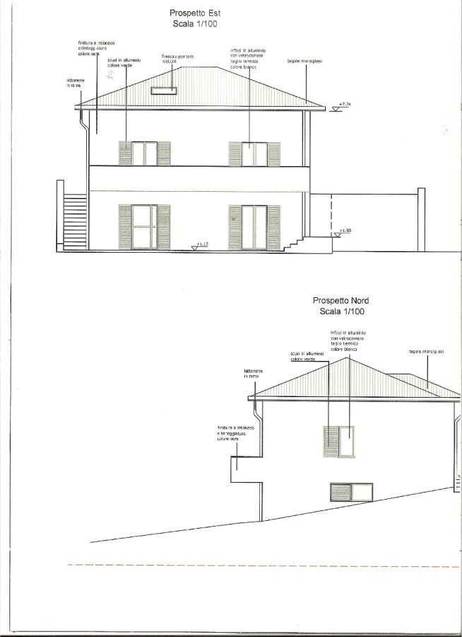 Fedele ricostruzione di fabbricato, civile abitazione