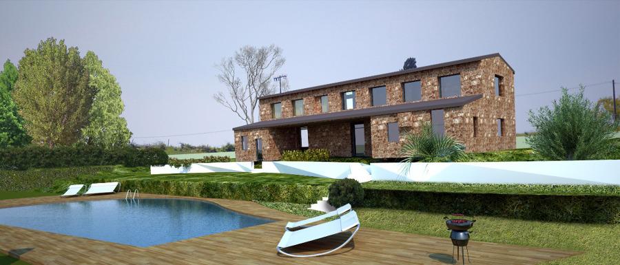 Progetto per restaurazione fienile a vicchio idee ristrutturazione casa - Progetto ristrutturazione casa gratis ...